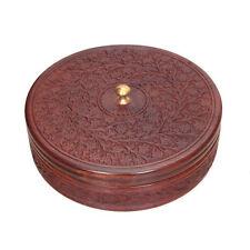 Wooden Handicrafted Sheesham Wood Multiporpuse Chapati Box Jewellery box