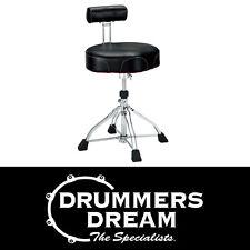 Tama Ergo-Rider Quartet Drum Throne With Backrest HT741B RRP $659 Brand New