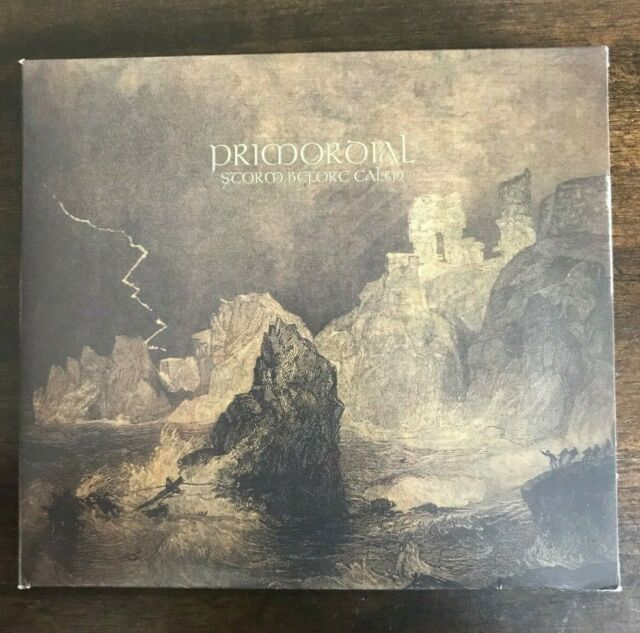Storm Before Calm by Primordial (CD/DVD, 2011, Metal Blade)