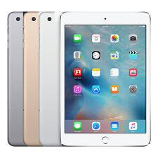"NEW Apple iPad Mini 3 128GB iOS WiFi 4G LTE ""Factory Unlocked"" 3rd Gen Tablet"