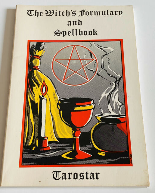 The Witch's Formulary and Spellbook Tarostar Paperback Book