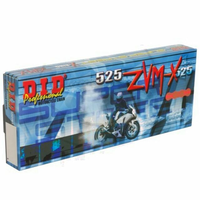 DID x-Ring Gold-Gold 525ZVMX/104 Chain Open With Rivet A Beating 797.31.59