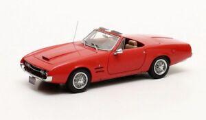 Ghia 450ss Rouge - Édition Limitée Et Numérotée 1967 1/43 Matrix