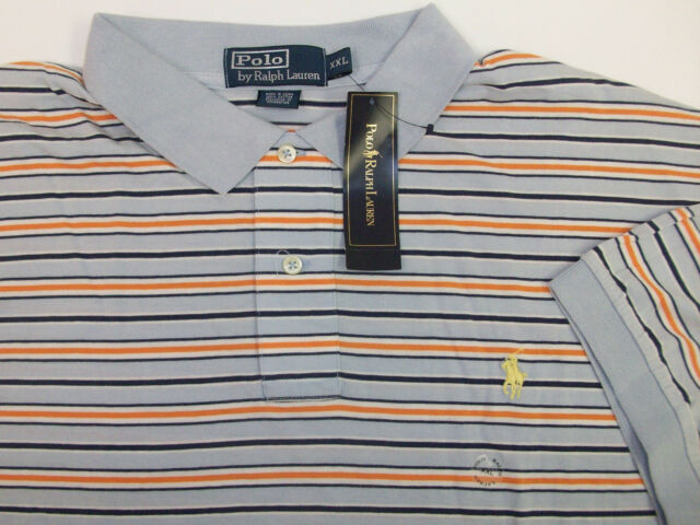 Polo Ralph Lauren Striped Soft Jersey Shirt  $79-85  Pink Green Blue w Pony NWT
