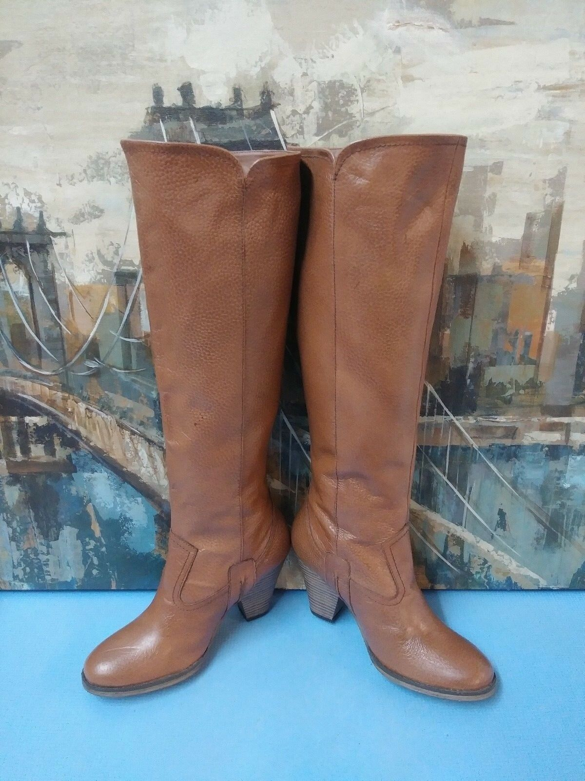 5ce227cea6b ... Naturalizer Tall Tall Tall Boots Women s size 6 Brown 1f38c5 ...