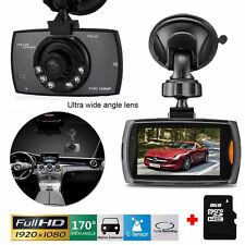 1080P HD CAR DVR G-sensor IR Night Vision Vehicle Video Camera Recorder Dash Cam