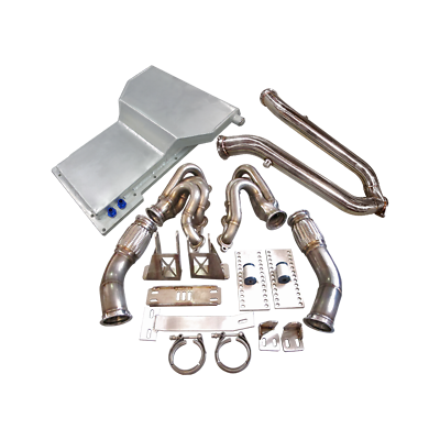 LS1 Engine T56 Trans Mount Kit Header Y Pipe Oil Pan For ...