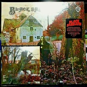 BLACK SABBATH Limited Edition 180 Gram Red Vinyl BRAND NEW SEALED