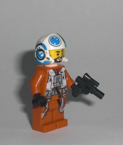Snap Wexley LEGO Star Wars Figur Minifig A-Wing Connix Skywalker 75248