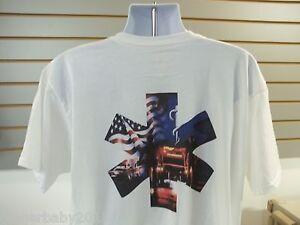 EMS-Paramedic-Cross-Ambulance-American-Flag-T-Shirt