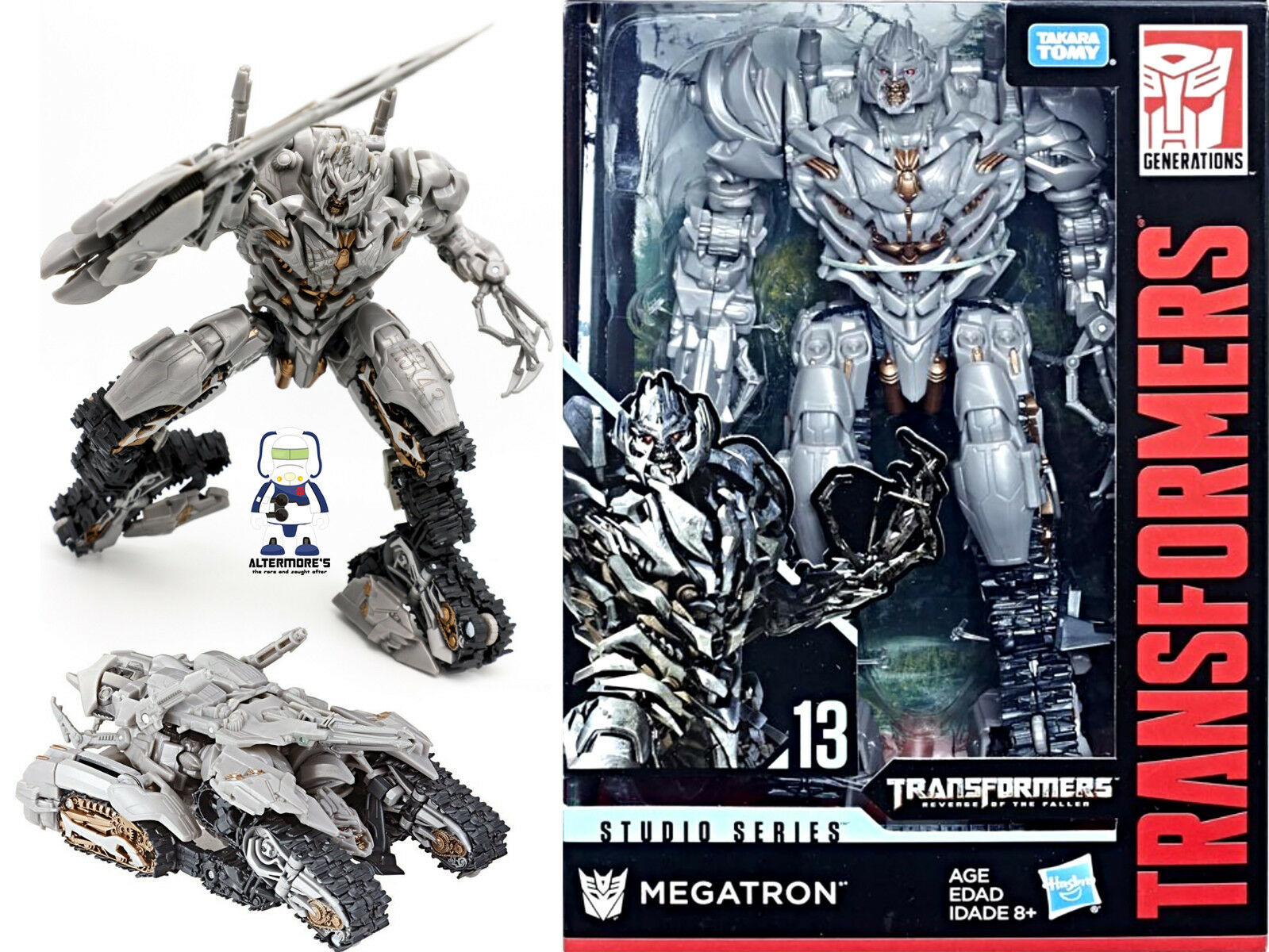 Transformers Move Studio Series SS-13 Voyager redF Megatron Brand New