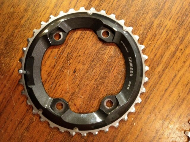 Shimano XT M8000 36t 96mm 11-Speed Outer Chainring for 36-26t Set