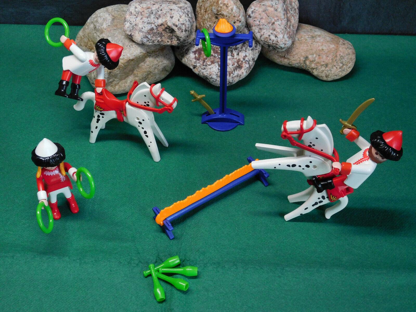 Playmobil Rarität Rarität Rarität Kunstreiter 3810-A 1995, Komplett-Set ohne OVP  | Exquisite (mittlere) Verarbeitung  ce4e78