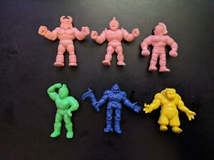 Vintage-1980s-M-U-S-C-L-E-Muscle-Men-Kinnikuman-Figure-Lot-7-Mixed