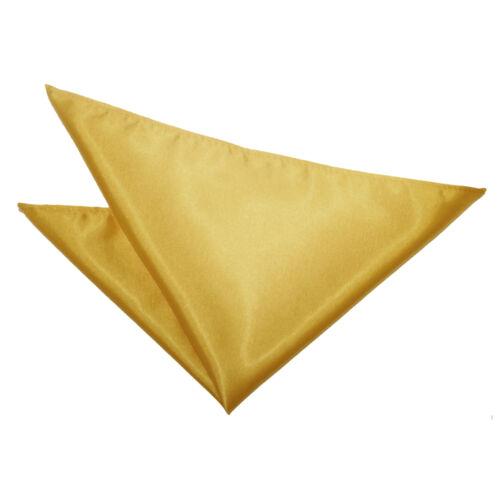 Men/'s Boy/'s Plain Satin Handkerchief Evening Wedding Groom Work Pocket Squares