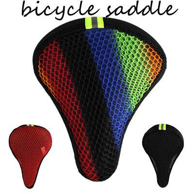 Comfort Wide Big Bum Soft Bike Saddle Bicycle Seat Air Cushion Pad Waterproof US