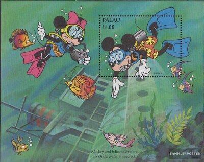 Postfrisch 1994 Walt Disney Figuren kompl.ausg. KüHn Palau-inseln Block33