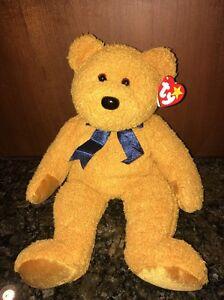 d21b7ff4fe3 w  Tags Ty Beanie Baby Babies Buddy Fuzz the Bear 12