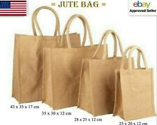 Wholesale Jute Hessian Bag All Size Shipping Packing Shopping Bags Amp Handle
