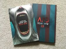 American Horror Story Freak Show media press kit book with DVD RARE