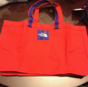 Details about The North Face x Olivia Kim Nordstrom Large Red Tote bag