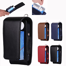 Electronic Cigarette Kit Leather Pouch Bag Case Box Holder Storage For iQOS USA
