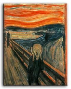 Premium Lienzo Arte Edvard Munch The Grito Muchos Tamaños