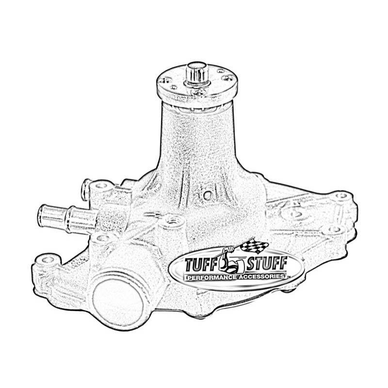 Engine Water Pump Supercool Water Pump Tuff Stuff 1432cred