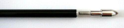 """remplaçable Vis-en pointe 12 Noir Brillant ® 30/"""" en fibre de verre la cible flèches"""