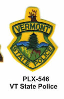 Vt State Police (state Police) Embroidered Patches 4