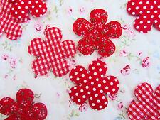 60 Black /& White Check//Stripe//Polka Dot Fabric Butterfly Applique//Trim//Bow H184