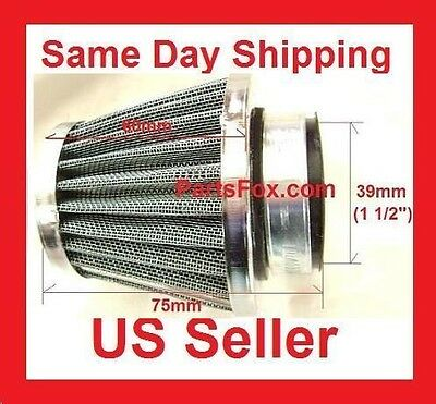 36MM Universal Cone Air Filter Clamp fit Honda Yamaha Scooter GY6 Dirt Bike 50cc