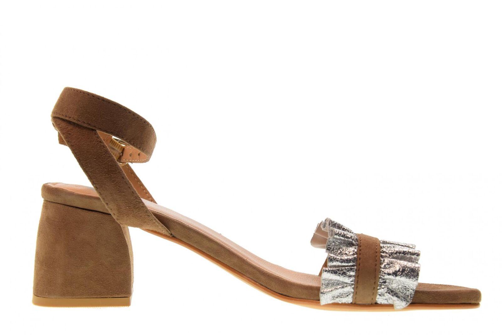 Gioseppo Schuhe Frau niedrigen Sandalen niedrigen Frau Absatz 45301 Silber / Sand P18g ebca59