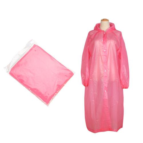 Camping Emergency Hiking Kids//Adult  Poncho Rainwear Rain Gear Rain Coat