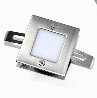 230V LED Wandeinbauleuchte Treppenlampe Licht Spots Wand Royal IP54 Unterputz