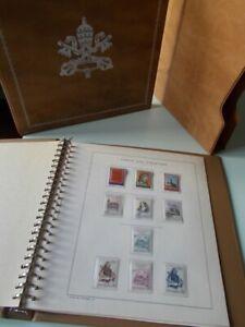 ALBUM-MARINI-VATICANO-anni-1973-e-1974-5-fogli-completi-42-francobolli-nuovi
