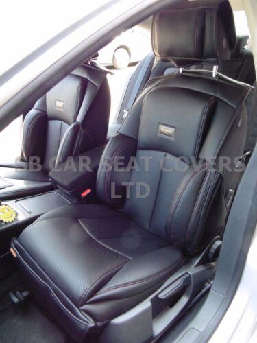 I Autositzbezüge YS01 Recaro Sport passend für Skoda Fabia schwarz