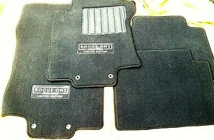 2017-STAR-WARS-NISSAN-ROGUE-ONE-LIMITED-EDITION-FLOOR-MATS-Set-of-4-RARE