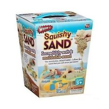 As Seen On Tv Squishy Moldable Sand With 3-Piece Tool Set