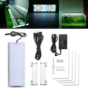 30-80cm RGB Chihiros Aquarium Fish Tank Plant Light 60/90/120LED Lamp 110/220V