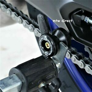 R-amp-G-M6-COTTON-REELS-FOR-PADDOCK-STANDS-BLACK-PAIR-for-Yamaha-YZF-R6-2015