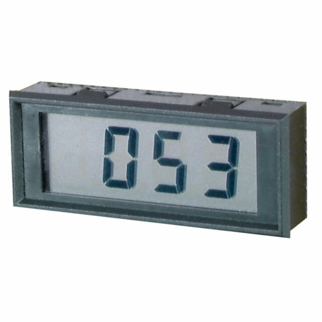 LCD 3.5 Digit Panel Meter Automatic Attractive modern bezel - Low Cost QP5570