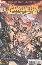 SECRET WARS Les GARDIENS DE LA GALAXIE N° 4 Marvel France Panini comics