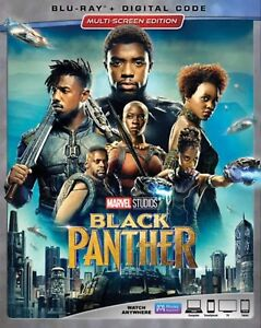 BLACK-PANTHER-BLU-RAY-DIGITAL-HD-WITH-SLIP-COVER-NEW