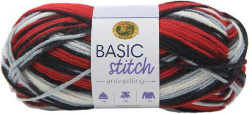 Lion Brand Yarn Basic Stitch Anti-Pilling Buffalo Hill 023032035505