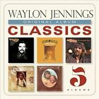 Original Album Classics [Digipak] * by Waylon Jennings (CD, Jun-2013, 5 Discs, Sony Legacy)