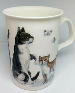 Roy Kirkham Cat Lovers Persian Cats Mug 1989 Fine China England