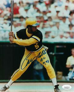PIRATES-Bill-Madlock-signed-8x10-photo-w-2X-NL-Bat-Champ-JSA-COA-AUTO-Autograph