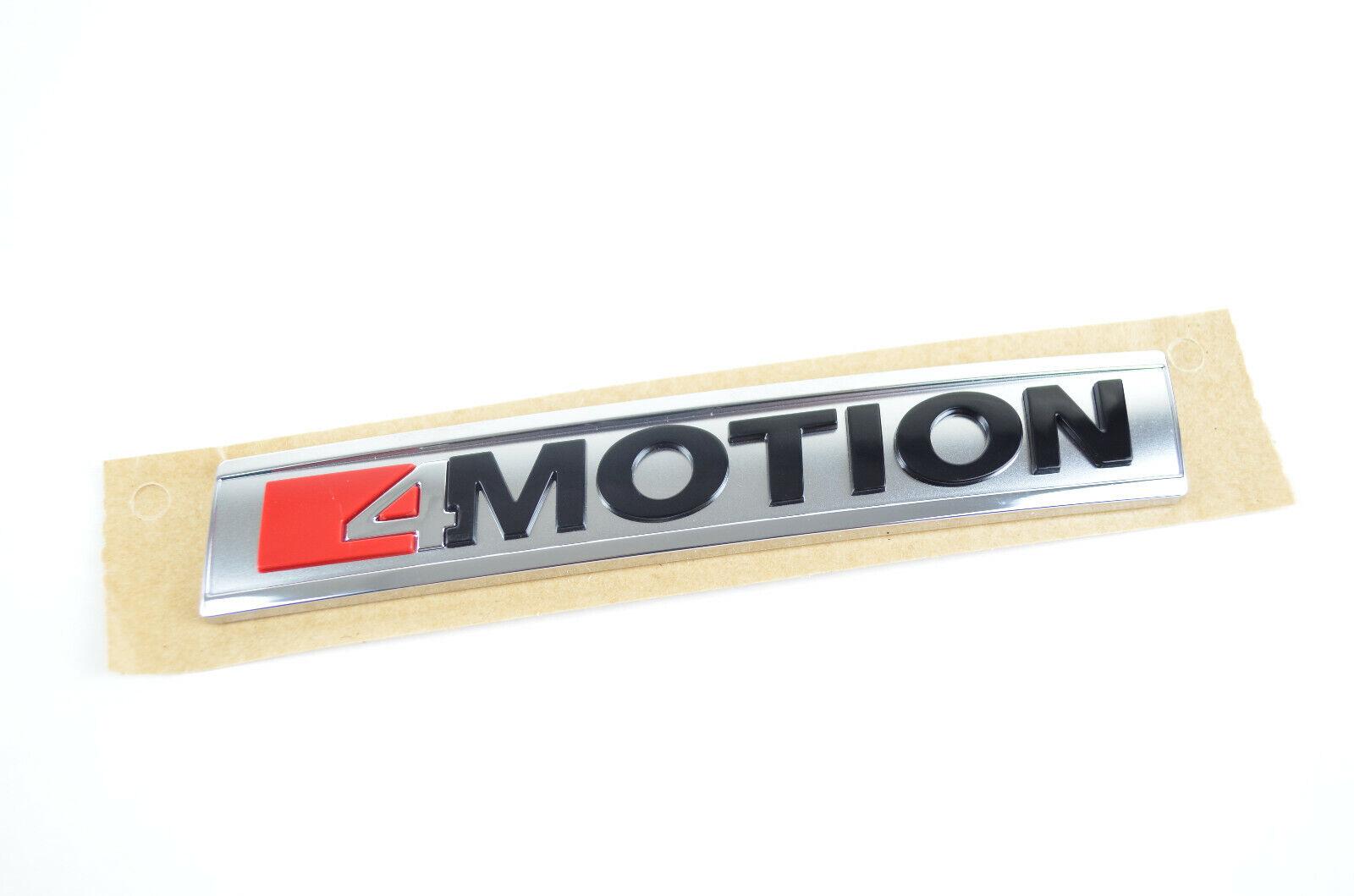 VW Schriftzug 4MOTION Emblem Logo selbstklebend 11 x 1,8 cm 3G0853675T
