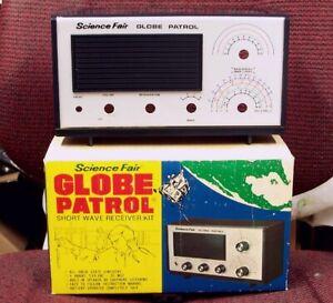 UNBUILT Globe Patrol shortwave transistor kit radio shack vintage AM SW receiver